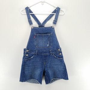 Levis Girls Denim Shortall 14R Blue
